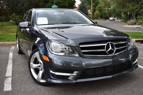 2014 Mercedes-Benz C-Class for sale at Altitude Auto Sales in Denver CO