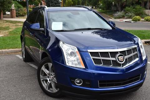 2012 Cadillac SRX for sale at Altitude Auto Sales in Denver CO