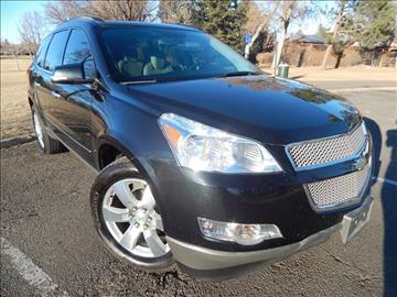 2012 Chevrolet Traverse for sale at Altitude Auto Sales in Denver CO