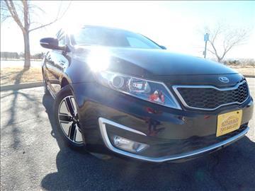 2013 Kia Optima Hybrid for sale at Altitude Auto Sales in Denver CO
