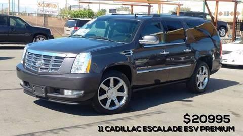 2011 Cadillac Escalade ESV for sale in El Paso, TX