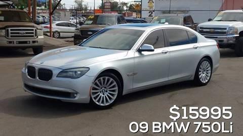 2009 BMW 7 Series for sale in El Paso, TX