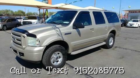 2005 Ford Excursion for sale in El Paso, TX