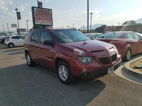 2005 Pontiac Aztek for sale in Salt Lake City, UT