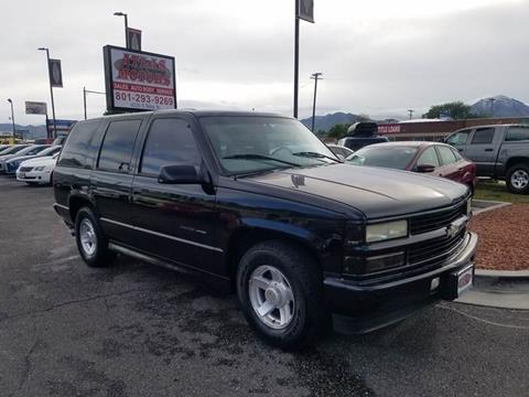 2000 Chevrolet Tahoe Limited/Z71 for sale in Salt Lake City, UT