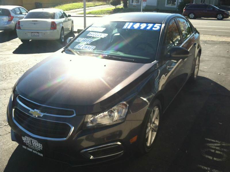 2015 Chevrolet Cruze 2LT Auto 4dr Sedan w/1SH - Redding CA