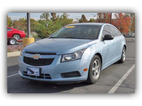 2012 Chevrolet Cruze for sale in Carson City, NV
