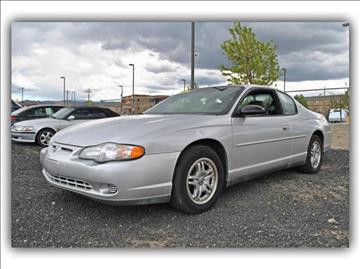 2001 Chevrolet Monte Carlo for sale in Carson City, NV
