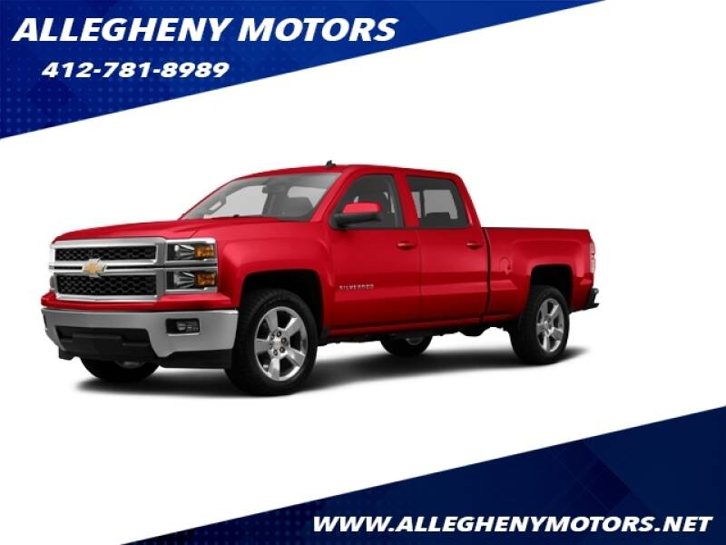 2014 Chevrolet Silverado 1500  - Pittsburgh PA