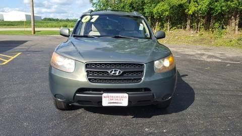 2007 Hyundai Santa Fe for sale at North Chicago Car Sales Inc in Waukegan IL