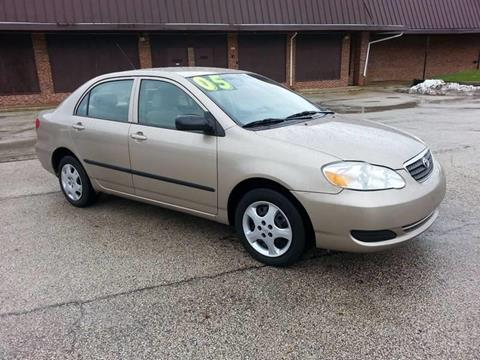 2005 Toyota Corolla for sale at North Chicago Car Sales Inc in Waukegan IL