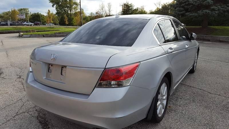 2008 Honda Accord EX-L 4dr Sedan 5A w/Navi - Mchenry IL
