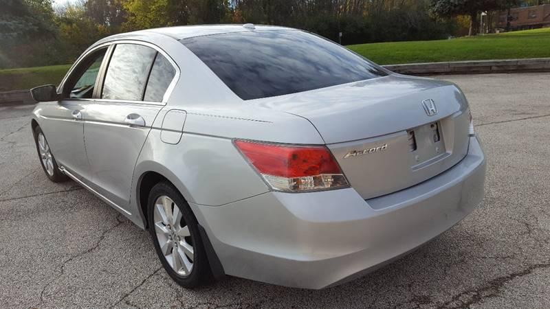 2008 Honda Accord EX-L 4dr Sedan 5A w/Navi - Waukegan IL