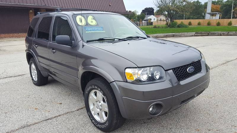 2006 Ford Escape AWD Limited 4dr SUV - Mchenry IL
