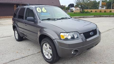 2006 Ford Escape for sale at North Chicago Car Sales Inc in Waukegan IL