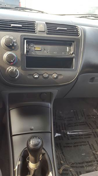 2003 Honda Civic EX 4dr Sedan w/Side Airbags - Mchenry IL