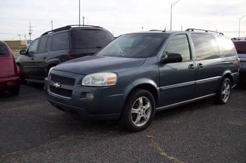0456726f3e 2005 Chevrolet Uplander for sale in Liberal