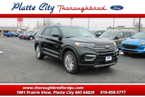 2020 Ford Explorer Limited for sale at Throughbred Sales Ford of Platte City  - Throughbred Sales Ford of Platte City in Platte City MO