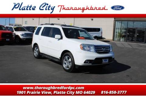 2014 Honda Pilot EX-L w/DVD for sale at Throughbred Sales Ford of Platte City  - Throughbred Sales Ford of Platte City in Platte City MO