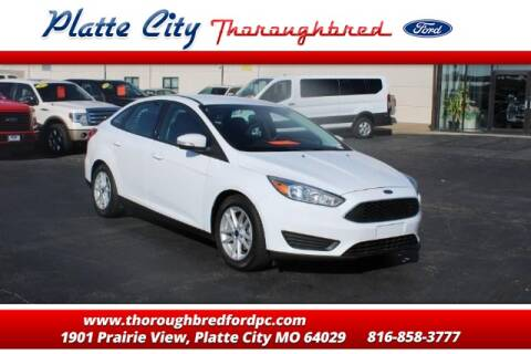 2017 Ford Focus SE for sale at Throughbred Sales Ford of Platte City  - Throughbred Sales Ford of Platte City in Platte City MO