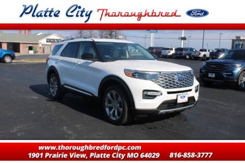 2020 Ford Explorer Platinum for sale at Throughbred Sales Ford of Platte City  - Throughbred Sales Ford of Platte City in Platte City MO