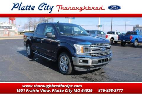 2020 Ford F-150 for sale at Throughbred Sales Ford of Platte City  - Throughbred Sales Ford of Platte City in Platte City MO