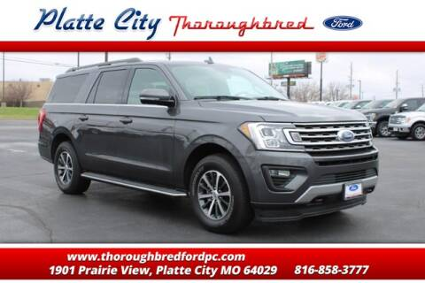 2019 Ford Expedition MAX XLT for sale at Throughbred Sales Ford of Platte City  - Throughbred Sales Ford of Platte City in Platte City MO