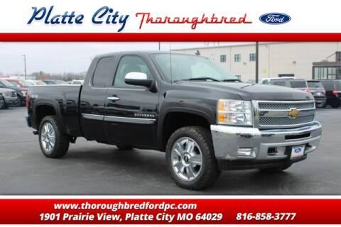 2012 Chevrolet Silverado 1500 LT for sale at Throughbred Sales Ford of Platte City  - Throughbred Sales Ford of Platte City in Platte City MO