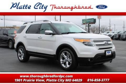 2013 Ford Explorer Limited for sale at Throughbred Sales Ford of Platte City  - Throughbred Sales Ford of Platte City in Platte City MO