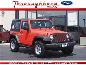 2015 Jeep Wrangler for sale in Platte City, MO