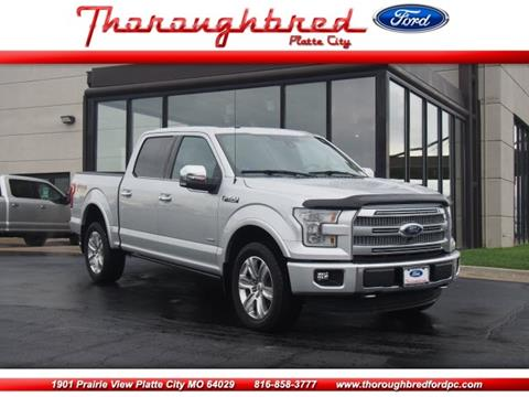 2015 Ford F-150 for sale in Platte City, MO