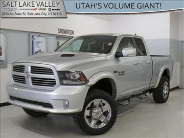2013 RAM Ram Pickup 1500 for sale in Salt Lake City UT