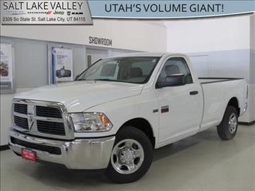 2012 RAM Ram Pickup 2500 for sale in Salt Lake City UT