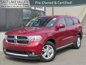 2013 Dodge Durango for sale in Salt Lake City UT