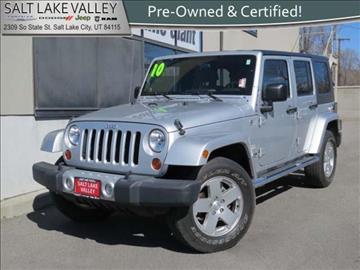 2010 Jeep Wrangler Unlimited for sale in Salt Lake City UT