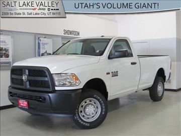 2013 RAM Ram Pickup 2500 for sale in Salt Lake City UT