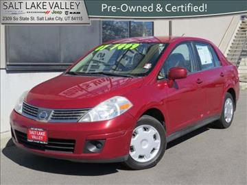 2007 Nissan Versa for sale in Salt Lake City UT