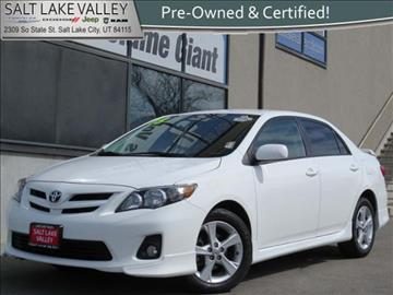 2013 Toyota Corolla for sale in Salt Lake City UT