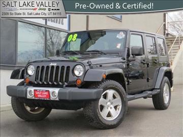 2008 Jeep Wrangler Unlimited for sale in Salt Lake City UT
