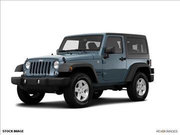 2014 Jeep Wrangler for sale in Salt Lake City, UT