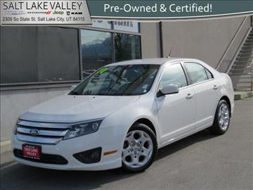 2010 Ford Fusion for sale in Salt Lake City, UT