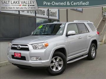 2013 Toyota 4Runner for sale in Salt Lake City, UT
