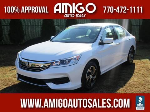 2016 Honda Accord for sale in Chamblee, GA