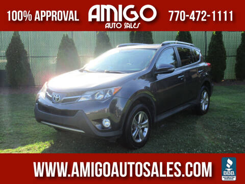 2015 Toyota RAV4 for sale at Amigo Auto Sales in Marietta GA