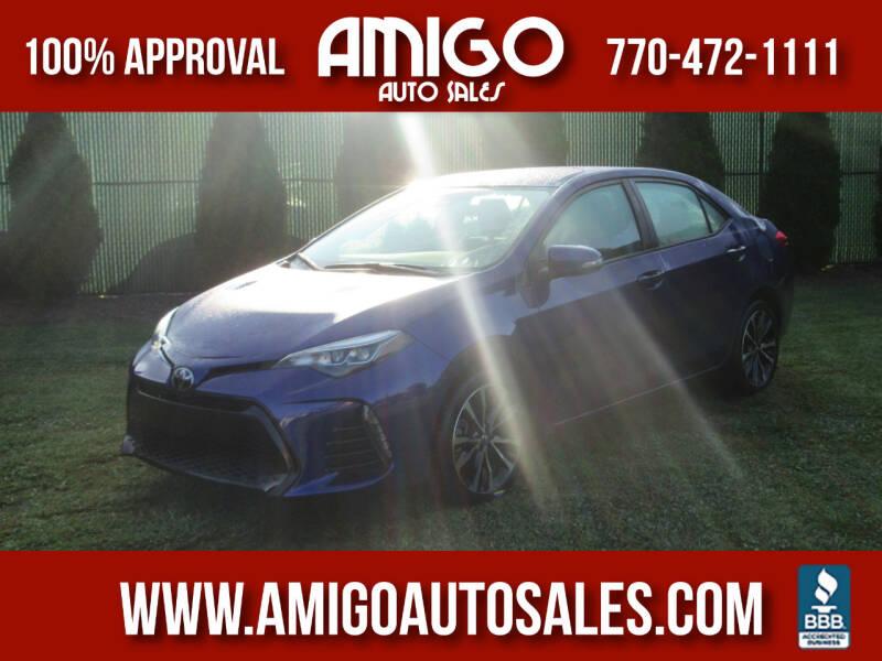 2017 Toyota Corolla for sale at Amigo Auto Sales in Marietta GA