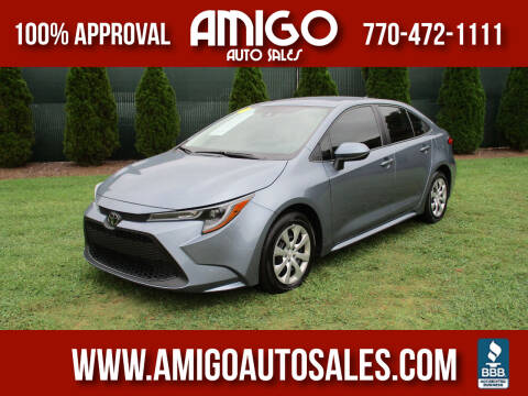 2020 Toyota Corolla for sale at Amigo Auto Sales in Marietta GA