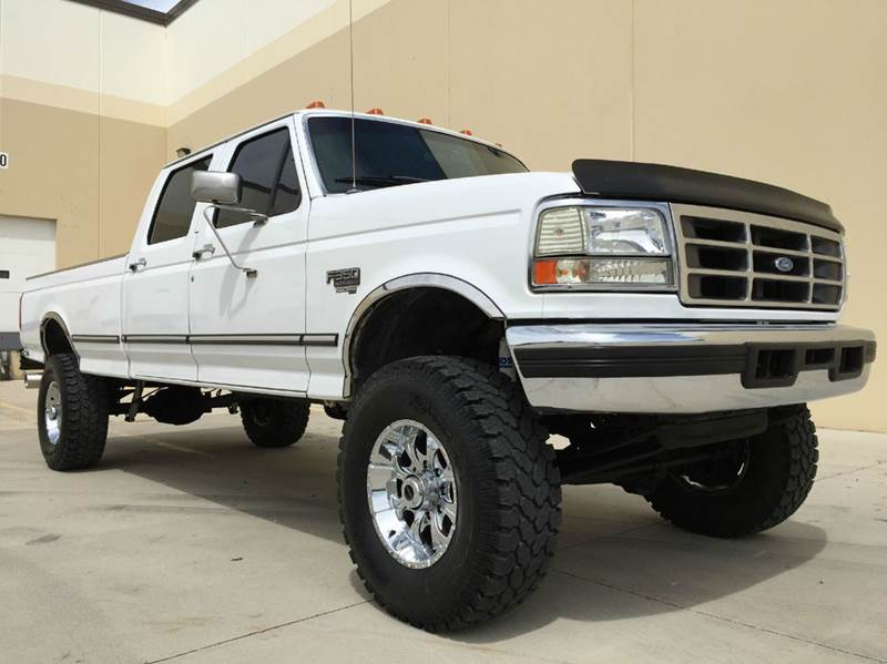 1996 Ford F 350 Xlt 4dr 4wd Crew Cab Lb In Salt Lake City Ut