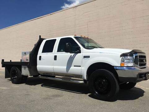 2000 Ford F-550 for sale at DIESEL DEALS in Salt Lake City UT