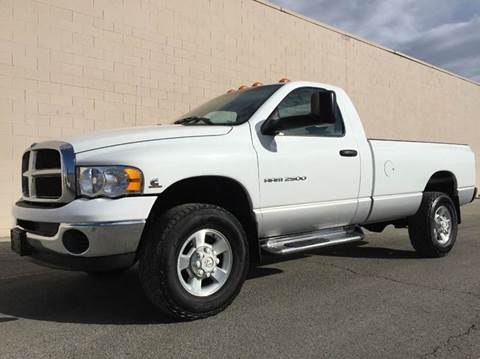 2003 Dodge Ram Pickup 2500 for sale at DIESEL DEALS in Salt Lake City UT