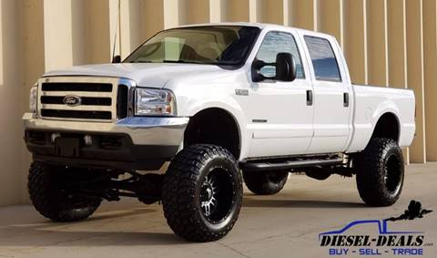 2003 Ford F-250 Super Duty for sale at DIESEL DEALS in Salt Lake City UT